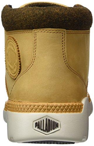 L Men's Pallaville Cuff Hi Amber Gold Boot Combat Palladium wdIz5qd