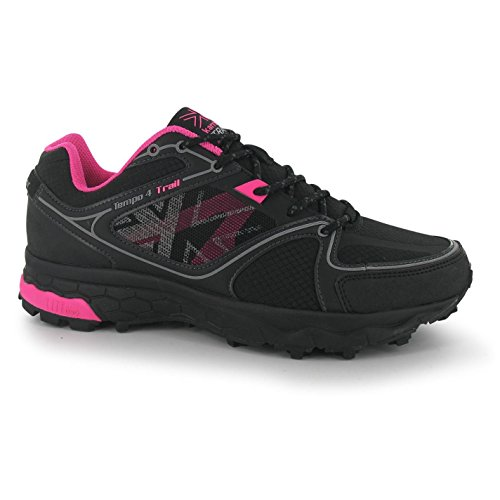 4 Road Ladies Tempo Pink Running Silv Karrimor Stringate Womens Scarpe Off Trail Purp SREawnpnOq