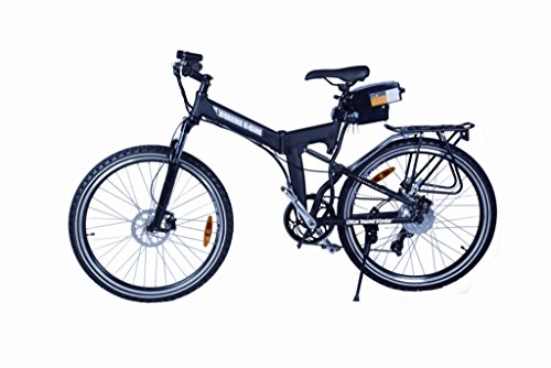 X-treme Scooters Elite X-Cursion Electric Folding Mountain Bicycle - Black by X-Treme Scooters