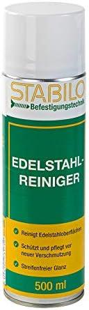 Stabilo Edelstahlreiniger, Edelstahlpflege, VA Reiniger, Edelstahl Pflege, 500 ml
