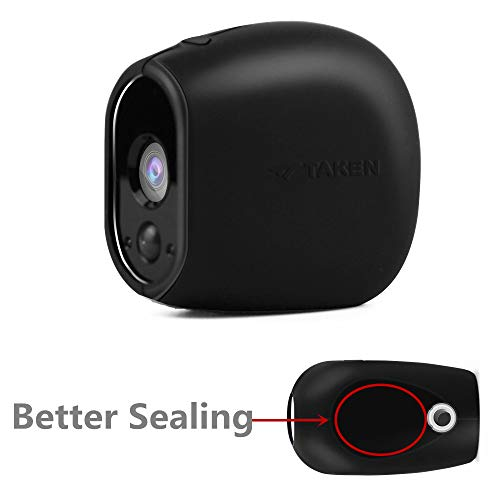Silicone Skins Compatible for Arlo Smart Security Home Camera,Taken Silicone Skins Case Cover for Arlo Smart Security Wire-Free Cameras, 1 Pack, Black (Camouflage Camera Case)