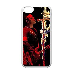Rammstein iPhone 5c Cell Phone Case White yyfabd-346248