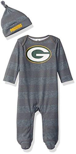 - NFL Green Bay Packers Unisex-Baby Sleep 'N Play & Cap Set, Packers, 3-6 Months