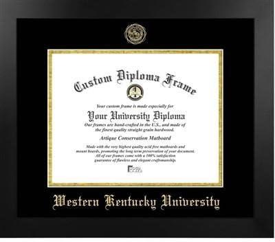 Western Kentucky University Most Popular Diploma Frame