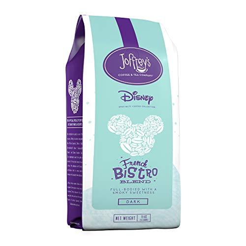 Joffrey's Coffee – French Bistro Blend, Disney Specialty Coffee Collection, Artisan Dark Roast Coffee, Arabica Coffee…