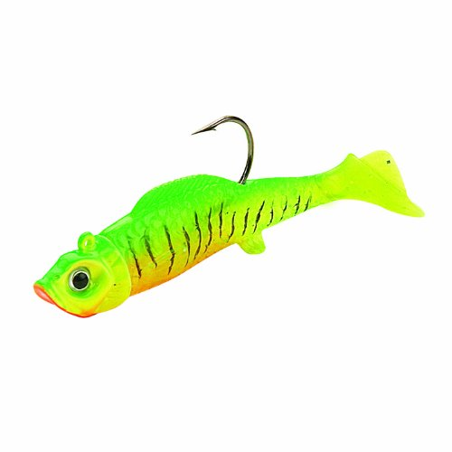 Northland Mimic Minnow Shad-Pack of 6 (1/8-Ounce, Green)