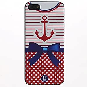 Kelaie Bowknot Design PC Hard Case for iPhone 5C +Screen Protector