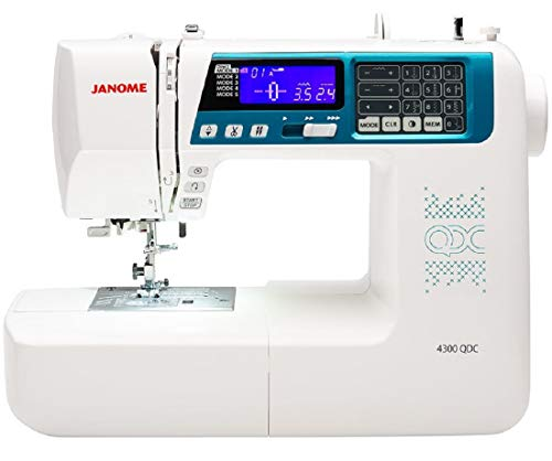 Janome 4300QDC-B Sewing and Quilting Machine with Bonus Quilt Kit! (Janome Sewing Kit)