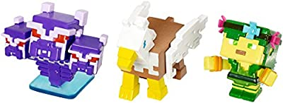 Minecraft Mini Wither Cerebus, Horse Gryfin, & And Dryad Figure, 3 Pack from Mattel