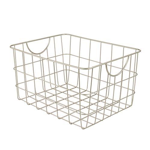 Spectrum Diversified Utility Storage Basket, Satin Nickel