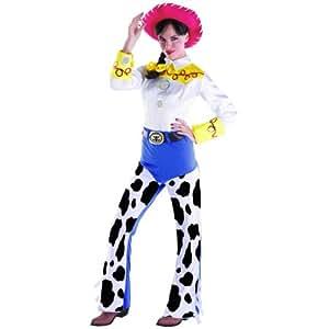 Disfraz 179072 Disney Toy Story 2 Jessie Disfraz Adulto - amarillo - Medium - 8-10