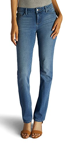 LEE Women's Straight Leg Jean, Houston, 14