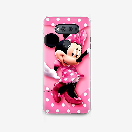 (GSPSTORE LG G6 case,Lovely Cartoon Mickey Mouse and Minnie Mouse Hard Plastic Protector Cover for LG G6#03)