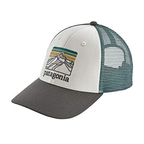 Patagonia Line Logo Ridge LoPro Trucker Hat (White)