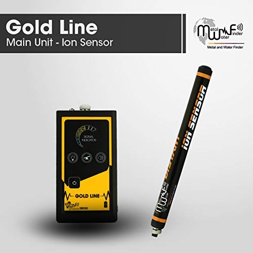 Amazon.com : MWF Gold LINE Metal Detector - Professional Geolocator Long Range Detector | Underground Depth Scanner & Distance Targeting | Find Gold Fields, ...