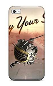 Hot Iphone Cover Case - New Vegas Postcard Protective Case Compatibel With Iphone 5c 9122753K20782175