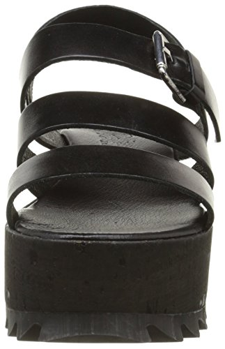 Turin 304 noir Nero Sandales Donna Stuart Elizabeth P5xEwqF1yw
