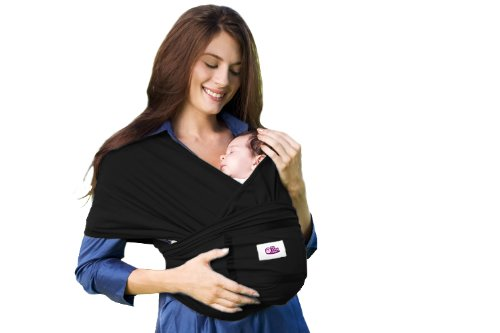 My Baby Nest Organic Baby Carrier, Ebony, Small (Discontinued by Manufacturer)