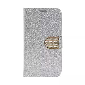 ZX Fashion PU Leather Diamond Full Body Case with Stand for Samsung Galaxy S6(Assorted Aolors) , Pink