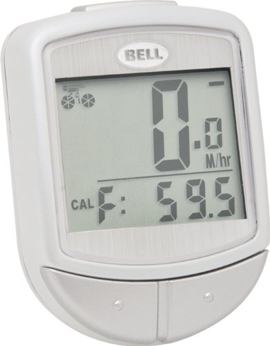 Bell Digital Wireless F15 Cyclocomputer (White)