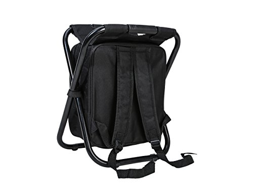 Soonyean multi function backpack foldable chair with for Fishing backpack chair