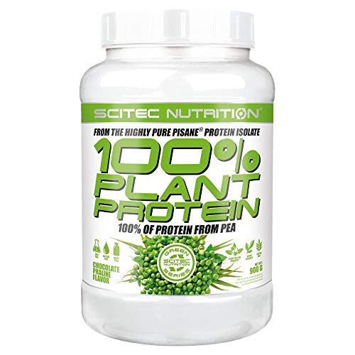 Scitec Nutrition Plant Protein Chocolate Praline (1x 900g) by Scitec Nutrition