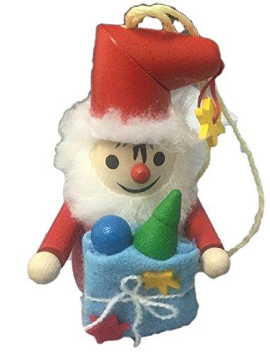 Snowman Steinbach Wood Christmas Tree Ornament