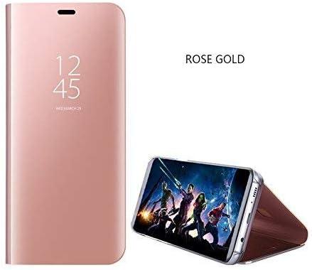 Samsung Galaxy Smart Cover Case, Flip Kickstand Mirror Design Luxury