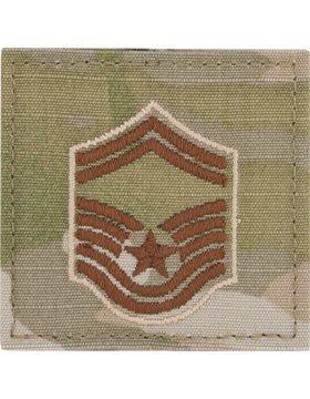 USAF Scorpion OCP Enlisted Rank (With Hook Fastener, E-8 Senior Master Sergeant)