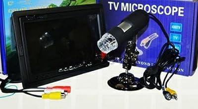 GOWE Digital AV Microscope With 7inch LCD/Moniter, High Resolution Electron Microscope
