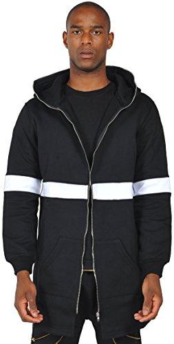 Y1196 Poncho Senza Sweatshirt Oversize Felpa Maniche Uomo Pizoff Gotico Da awzgxR