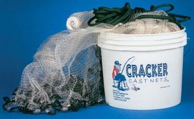 Cracker Cast Net - 3/8-Inch x 10-Foot
