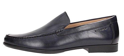 106714 absolute Nero nero comfort STONEFLY scarpe mocassini uomo pelle wOTqSdf