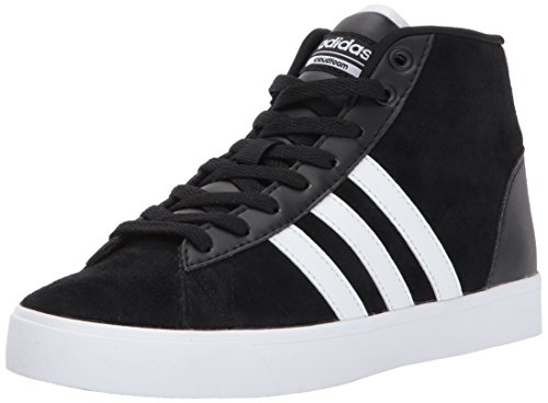 Adidas NEO Womens CF Daily QT Mid W Sneaker, Black/White/Super Pink Deal (Large Image)