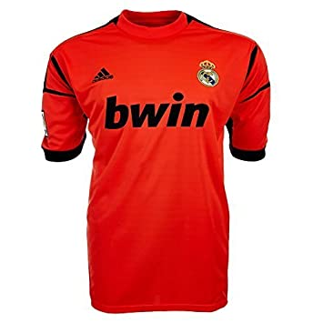 new styles f15d7 705de Real Madrid Goalie Jersey Adidas W41868: Amazon.co.uk ...