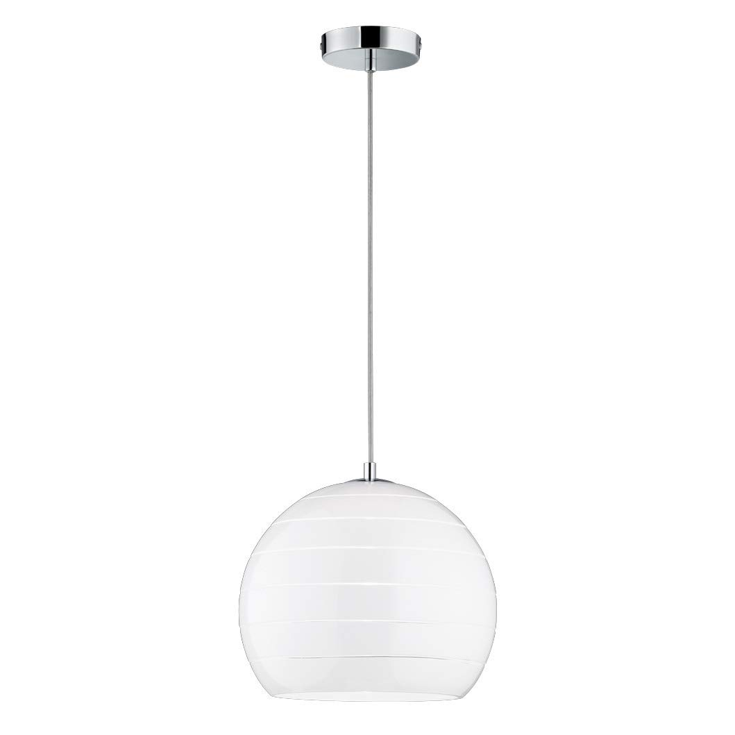 Bauhaus - Lámpara de techo en cromo 1 x E27 hasta 60 W 230 V ...