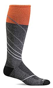 Sockwell Men's Pulse Firm Graduated Compression Socks - gray - Medium/Large