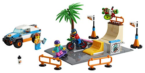 LEGO City Skate Park 60290 Building Kit; Cool Building Toy for Kids, New 2021 (195 Pieces)