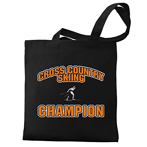 Country champion Eddany Cross Cross Canvas Bag Tote Eddany Skiing zqOtwFxvt