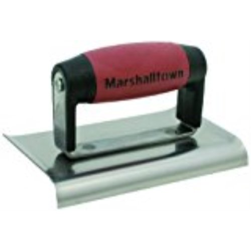 MARSHALLTOWN The Premier Line 156D 6-Inch by 4-Inch Edger with DuraSoft Handle by MARSHALLTOWN The Premier Line