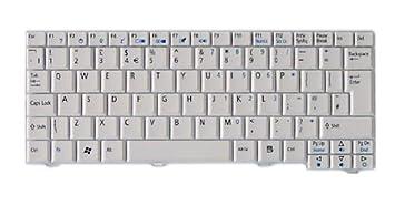Acer Keyboard 84KS White US International - Componente para ordenador portátil (Inglés de EE.