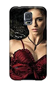 Hot Design Premium PseqRXi5411BbjmS pc Case Cover Galaxy S5 Protection Case(nina Dobrev Vampire Diaries)