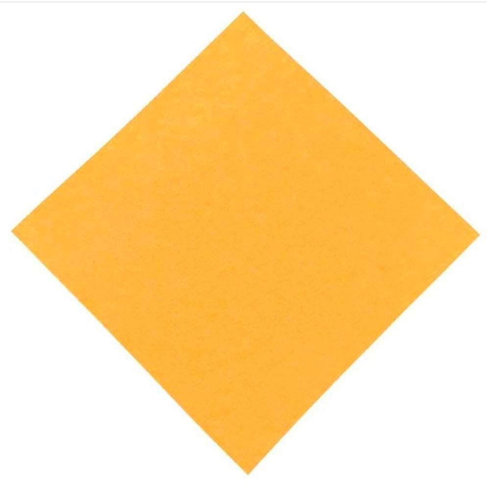Ez4garden Acoustic Absorption Panel Absorber Soundproofing Insulation Tiles Multiple Color Options -6 PACK 12 X 12 X 0.4(L30xW30xH0.1cm ,Orange