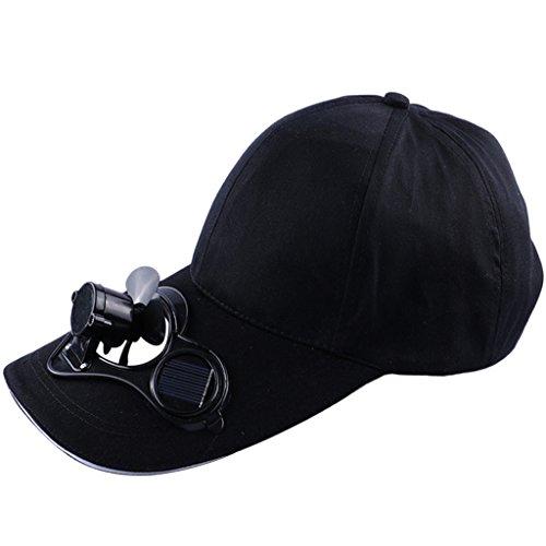 ooling Baseball Cap for Unisex Outdoor (Black) ()
