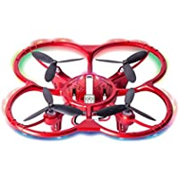 RC Quadcopter, Gotd 300 Thousand Pixels, WIFI 2.4G 4CH FPV High Hold Mode RC Quadcopter with 4 LED lights, Red