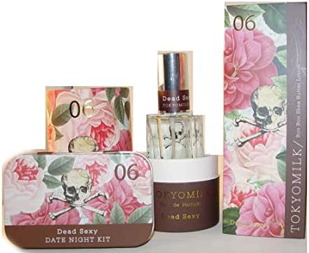 TokyoMilk Dead Sexy Perfume Spray with Handcreme and Date Night Gift Set Trio Eau de Parfum Eau de Parfum 1.0 fl oz Free Sample included with your purchase