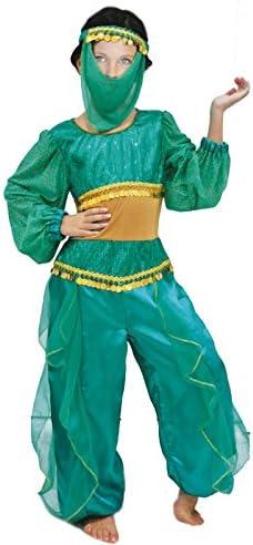 Partilandia Disfraz Princesa Á Rabe Niña Infantil Para Carnaval (7 ...