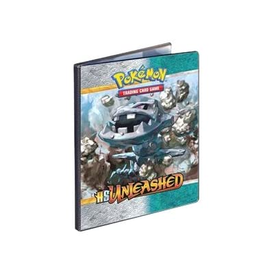 Pokemon CCG: HeartGold SoulSilver Unleashed 9-Pocket Portfolio Combo Album (Pokemon Trading Card Album / Binder) 82525: Sports & Outdoors