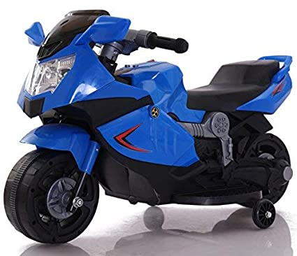 052516866fe Buy Toy House Mini Ninja Superbike Rechargeable Battery Operated Ride-On  for Kids(1.5 to 3YRS), Blue Online at Low Prices in India - Amazon.in