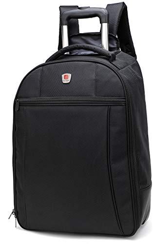 City Bag - Trolley-Rucksack mit Rollen - Handgepäck - 44 Liter Fassungsvermögen - 55 x 40 x 20 cm